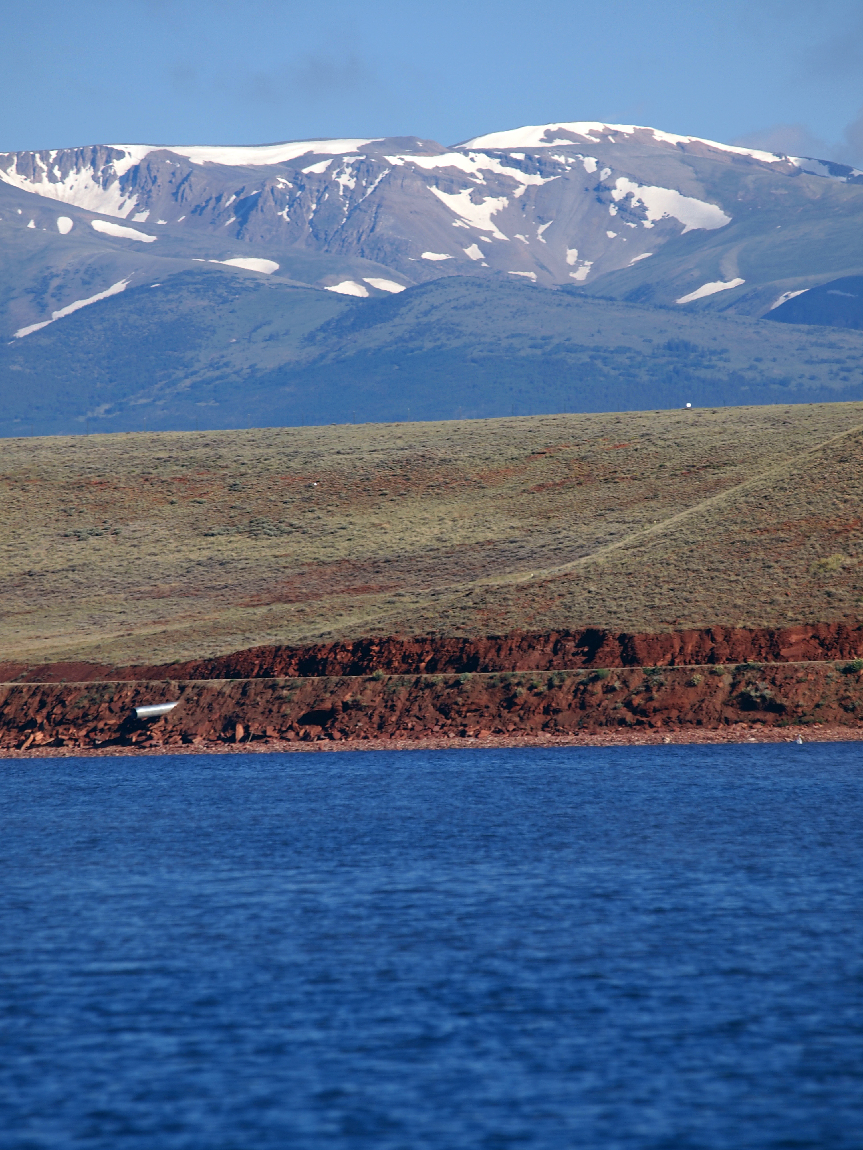 antero reservoir shoreline