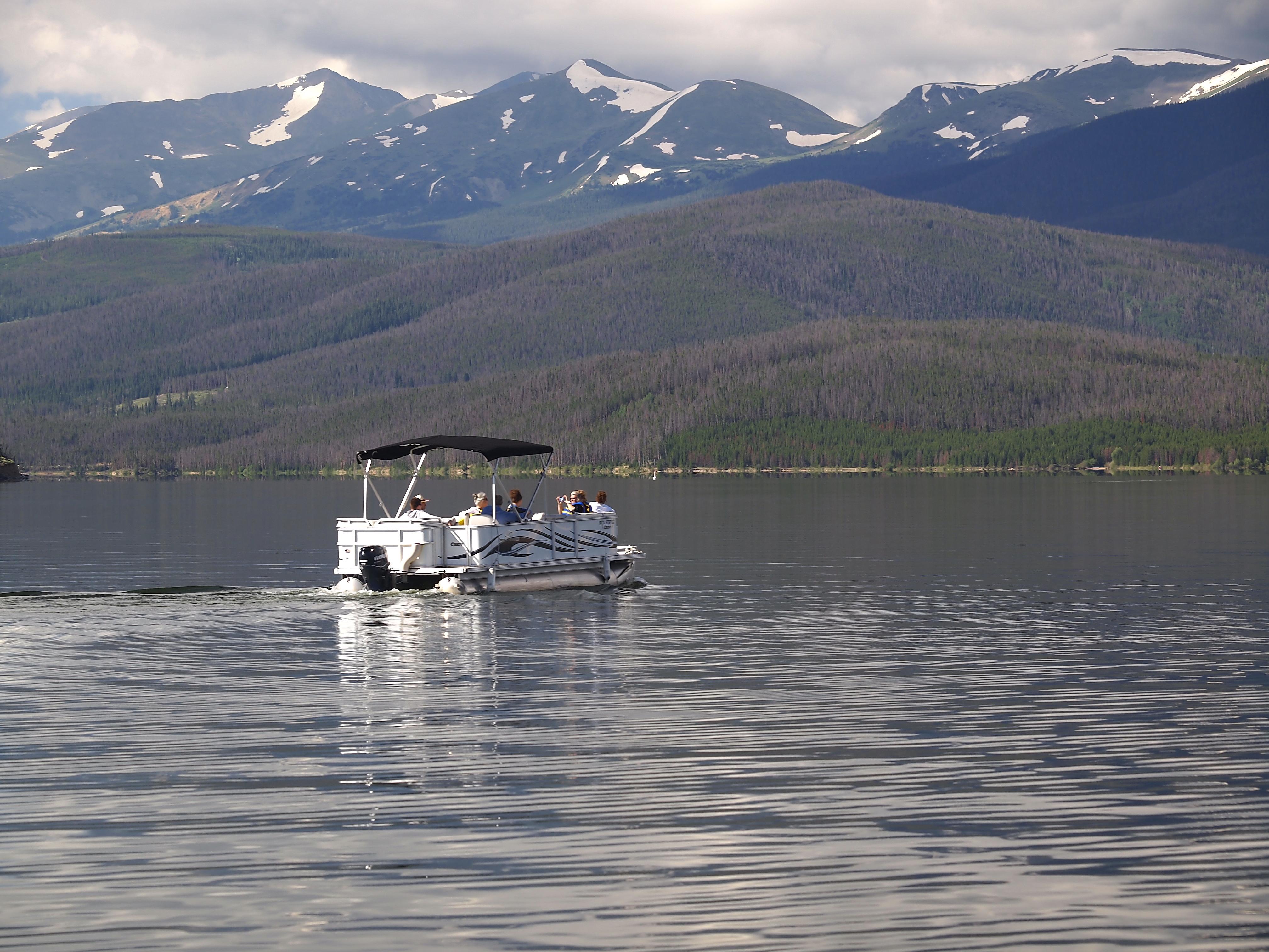 Dillon reservoir denver water for Colorado fishing license age