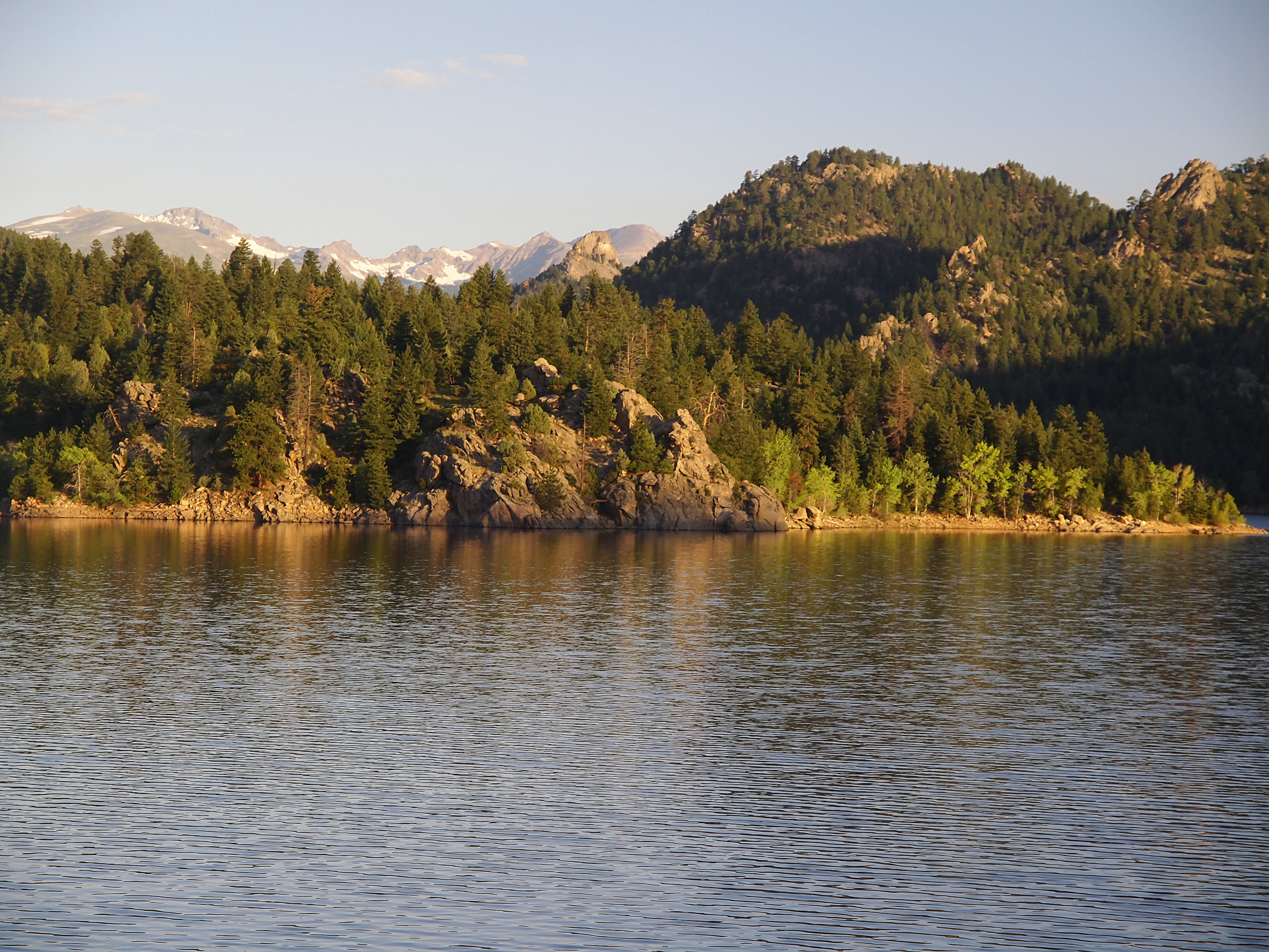 gross reservoir shoreline
