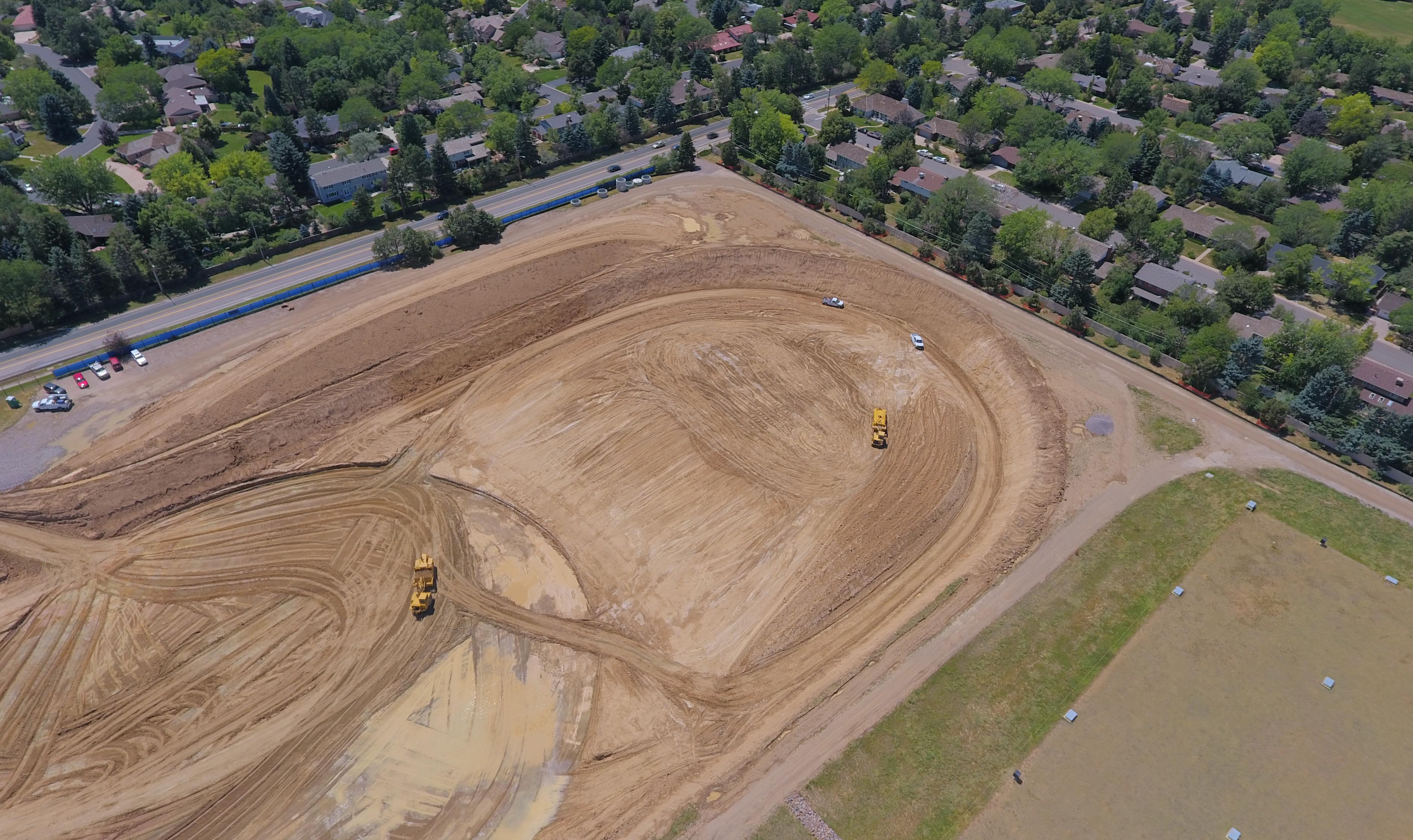 hillcrest concrete placement hillcrest tank 2 excavation ... & Hillcrest Storage Tank Replacement   Denver Water
