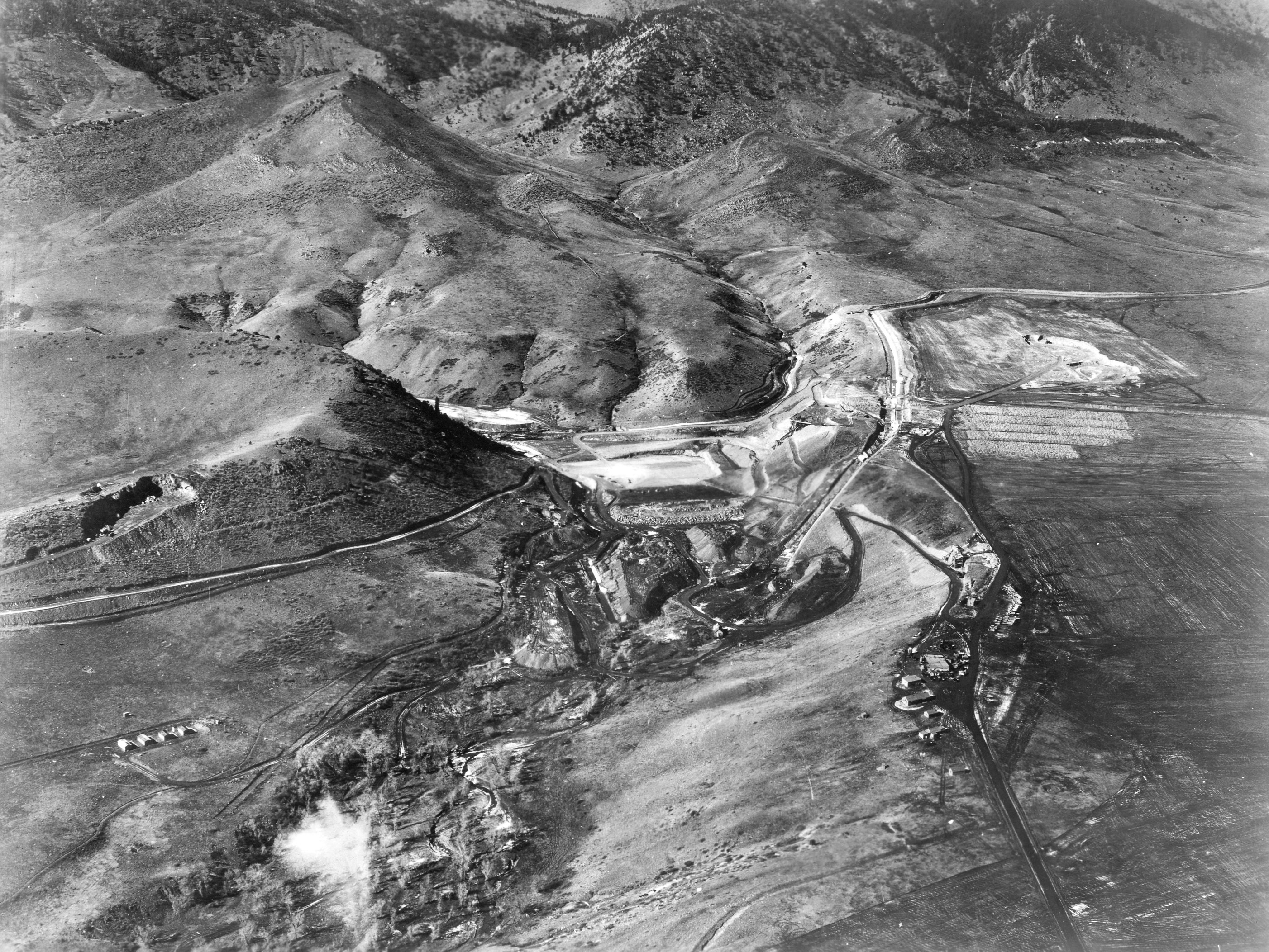 ralston dam construction