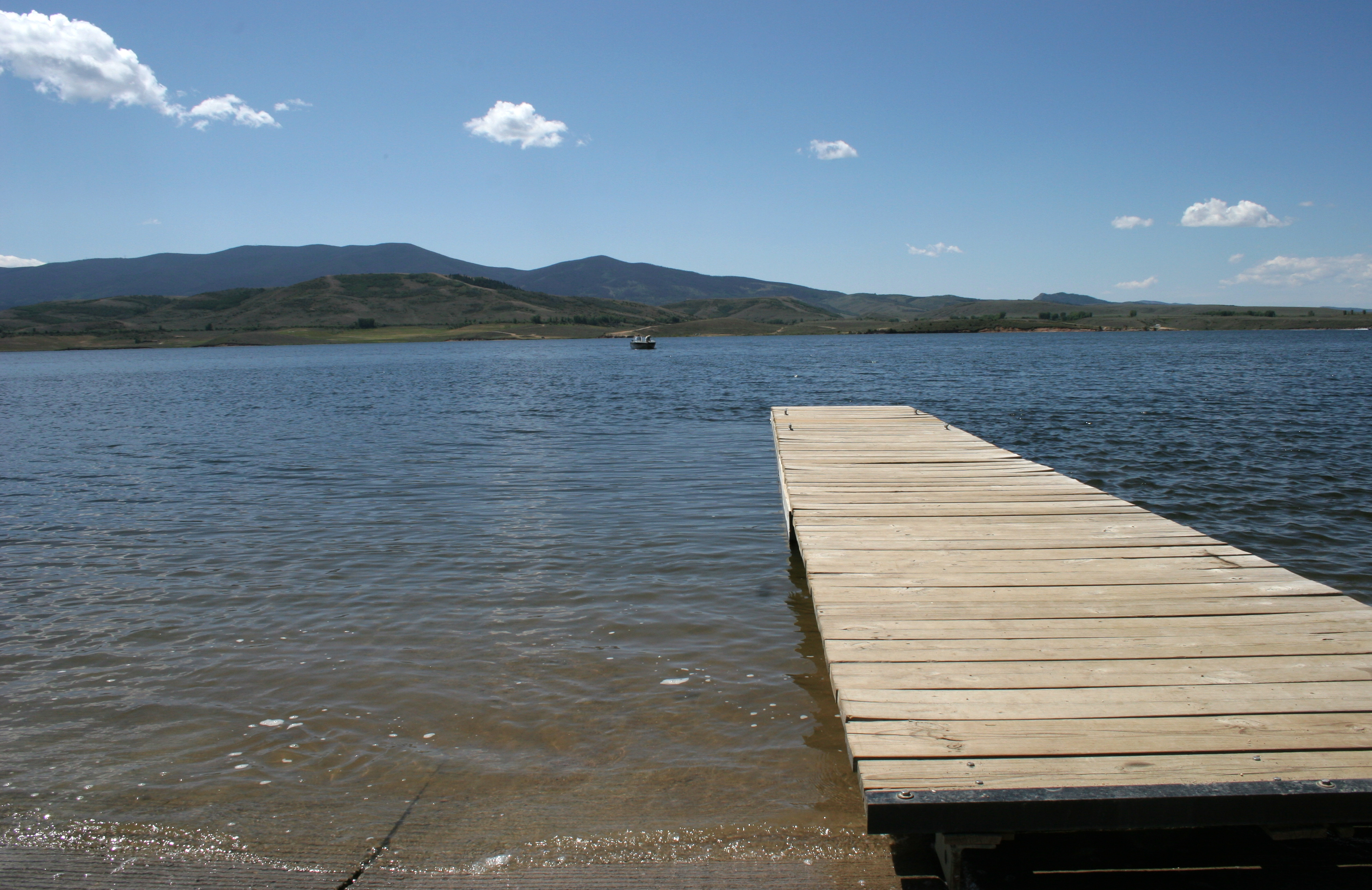 Williams Fork dock