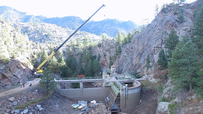 South Boulder Creek Diversion Dam