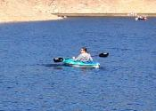 Kayaker on Gross Reservoir