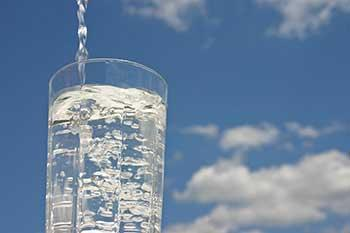 Your water is safe to drink and meets or exceeds federal and state requirements.