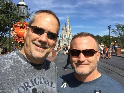 Chris and Bob at Disney