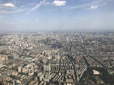 A view from the sky shows the dense, expansive growth in just one part of the megacity of Chengdu, China. It is in response to this growth, the Chinese government is interested in introducing a bond market to help fund massive infrastructure projects.