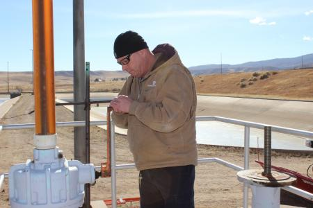 Cary Kern, water treatment technician