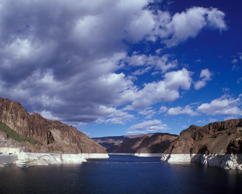 Lake Mead near Las Vegas show signs of dropping elevation even earlier in the decade.