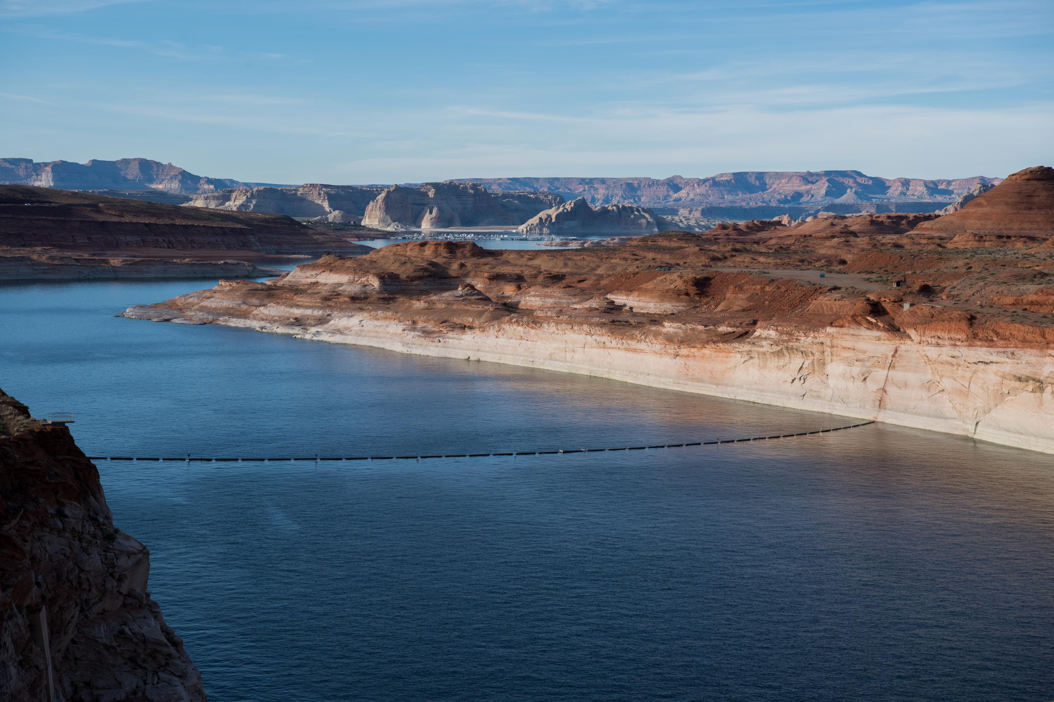 This picture shows Lake Powell.