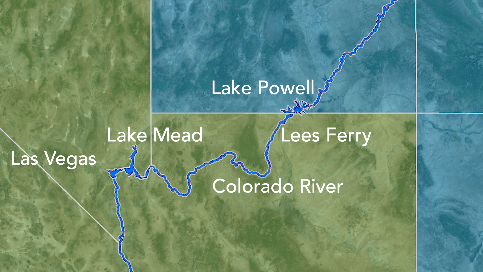 Lees Ferry, AZ is the location where water is measured under terms set forth in the 1922 Colorado River Compact.